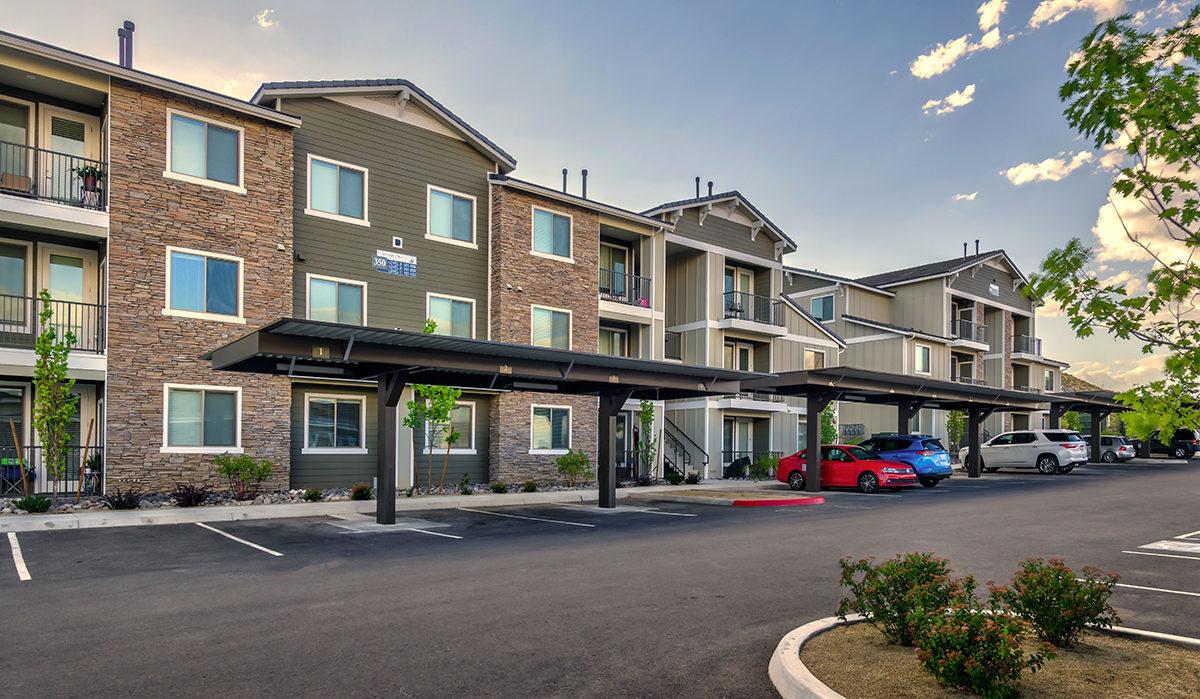 Carson Hills Apartments - Carson City NV -Apartment Building Exterior