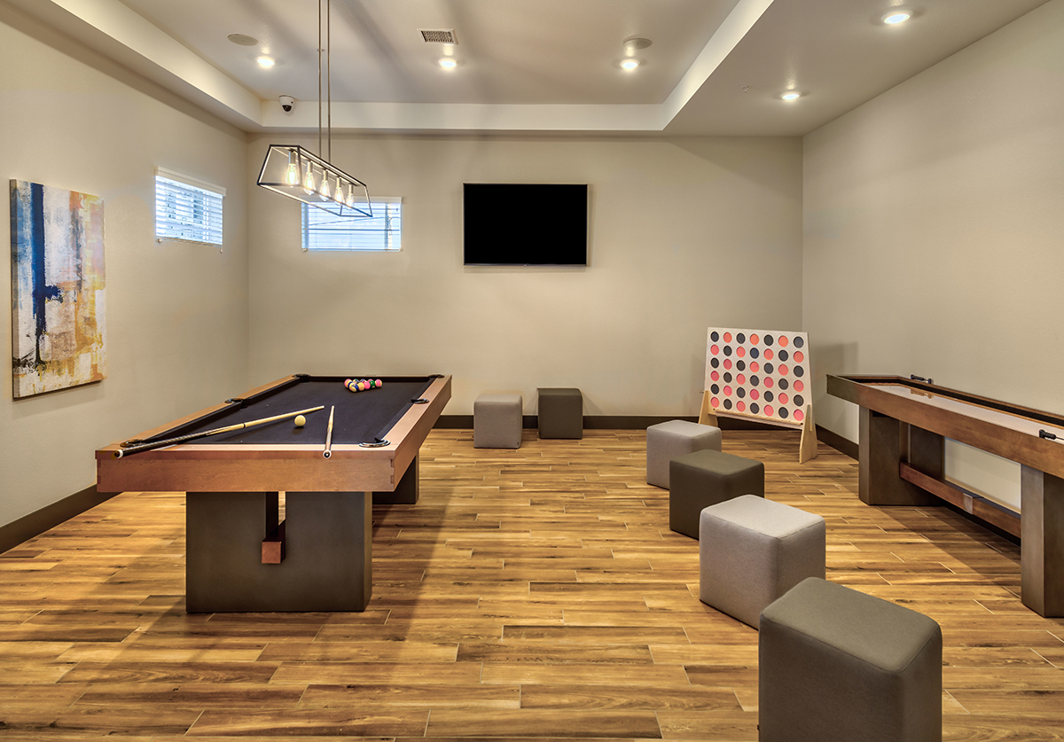 Carson Hills Apartments - Carson City NV - Clubhouse - Game Room
