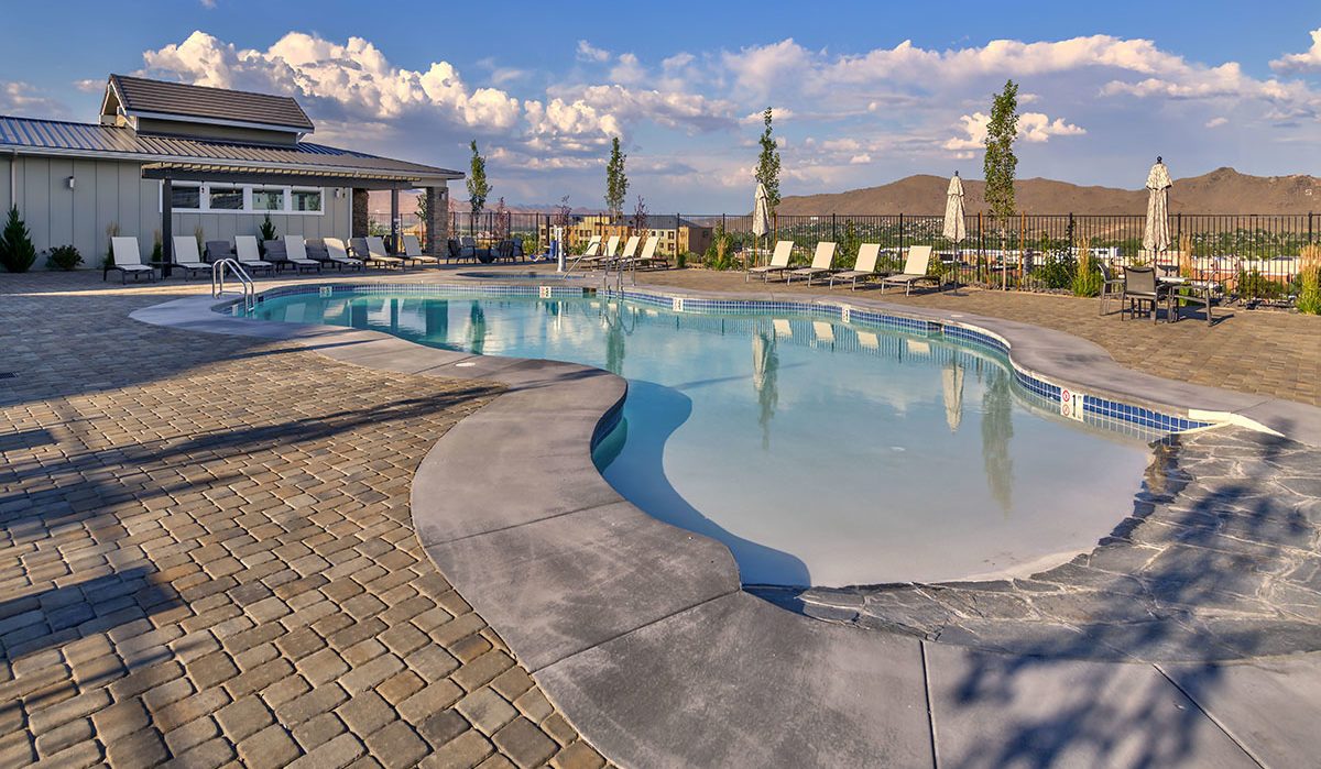 Carson Hills Apartments - Carson City NV - Clubhouse - Pool