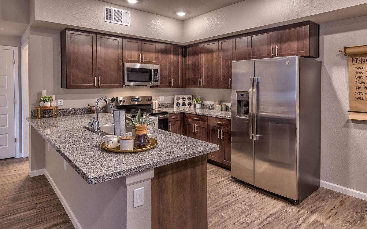 Carson Hills Apartments - Carson City NV - Two Bedroom (Governor) - Kitchen