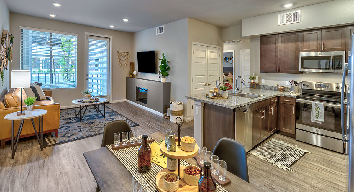 Carson Hills Apartments - Carson City NV - Two Bedroom Grnor)